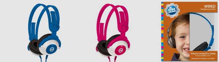 Kidz Gear headphones for kids