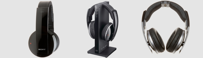 wireless tv headphones sony mdr-ds6500