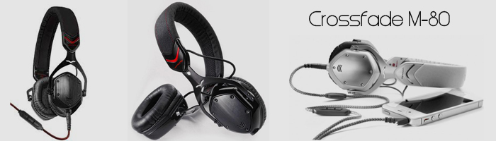 sleek headphones - vmoda crossfade m-80 headphones